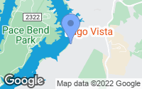 Map of Lago Vista, TX